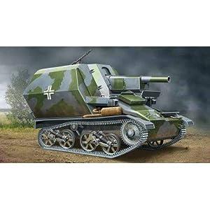 Ace Authentic 10.5cm leFH-16 SFL.Auf Geschuetzpanzer M (1:72)
