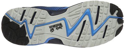 Jack Wolfskin Herren Zenon Track Low M Traillaufschuhe Blau (Ocean Blue)