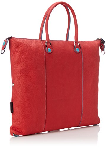GabsG3 - Borsa a mano Donna Rosso (Red)