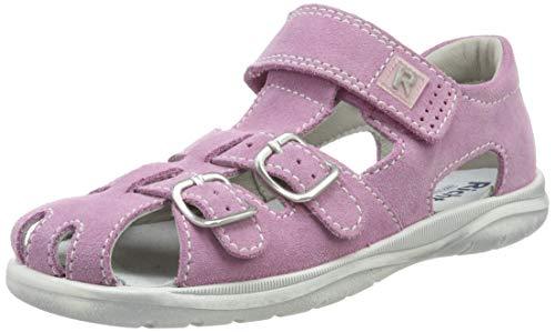 Richter Kinderschuhe Mädchen Babel Geschlossene Sandalen, Pink (Candy/Silver 3111), 25 EU