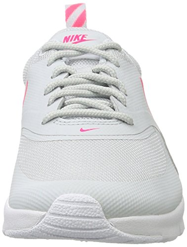 Nike Unisex-Kinder Air Max Thea (Gs) Low-Top Mehrfarbig (Pure Platinum/racer Pink White)