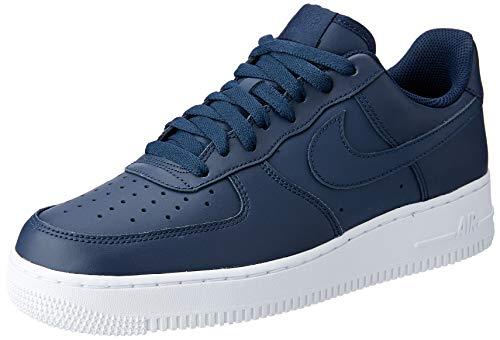 more photos da116 2514c Nike Men s Buty Air Force 1 07 Basketball Shoes, Blue Obsidian-White 400,