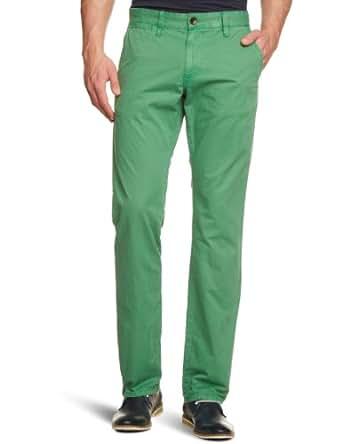 Tom Tailor - Pantalon - Homme - Vert - Grün (7347  seed green) - FR : 33W/36L (Taille fabricant : 33/36)