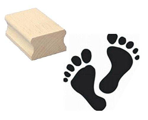 Stempel Holzstempel Motivstempel « Fuß Pediküre Fußpflege 02 Fußabdruck » Scrapbooking - Embossing - Scrapbooking Füße