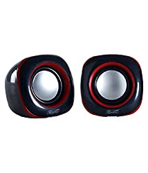 Hiper Song HS902 Speaker Portable PC/Mobile/Tablet Audio Speaker��(Black, 2.0 Channel)