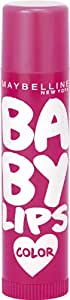 Maybelline Baby Lips Brights Neon Rose, 4g