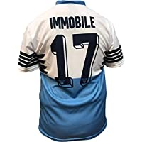 Maglia Lazio Ciro Immobile 17 Replica Autorizzata 2018-2019 Bambino (Taglie-Anni 2 4 6 8 10 12) Adulto (S M L XL) (10 Anni)