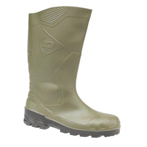 Dunlop Gummistiefel Kniehoch S5, Stivali di Gomma Donna verde (Green)