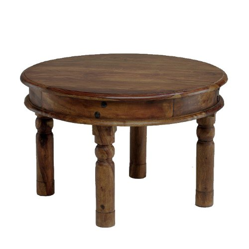 Buy Jali Sheesham Round Thakat Coffee Table 55x46 Furniture Nicezon Com