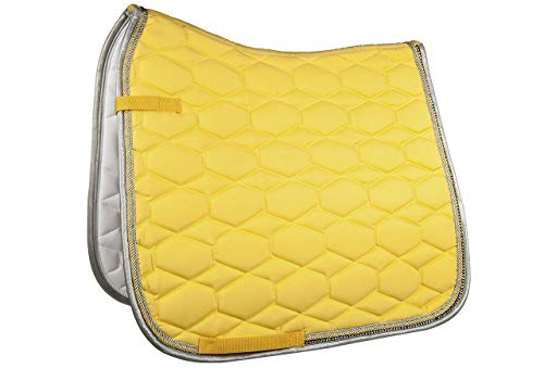 HKM 91254300.0144 Schabracke -Crystal Fashion- VS, gelb
