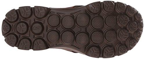 Skechers Go Walk Stag, Tongs Homme Chocolat