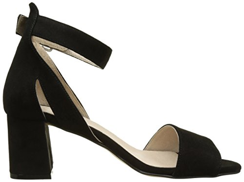 Shoe the Bear May S, Sandales Bout Ouvert Femme Noir (110 Black)