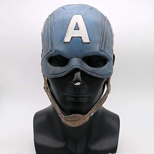 tain America 3 Maske Avengers Civil War Maske Halloween Helm Latex Maske Cosplay Costu ()