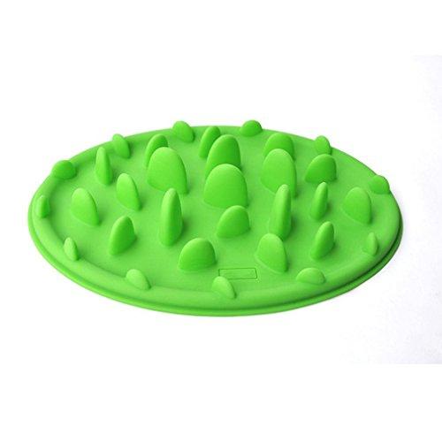 Freshlove-Slow-Pet-Feeder-Anti-choke-Pet-Bowl-for-Feeding-Dogs-Cats-25-18cm-Green