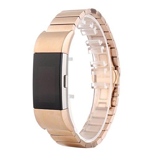 Smart-Korn Art Armband Stahl Armband-Bügel-Uhr-Band-Metallersatzarmband für Charge 2