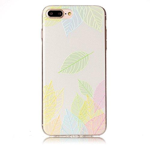 Cover Per Apple iPhone 7 Plus, Sunrive® Case Custodia in molle Ultra Sottile morbido TPU silicone Morbida Flessibile Pelle Antigraffio protettiva(tpu hoja) tpu hoja