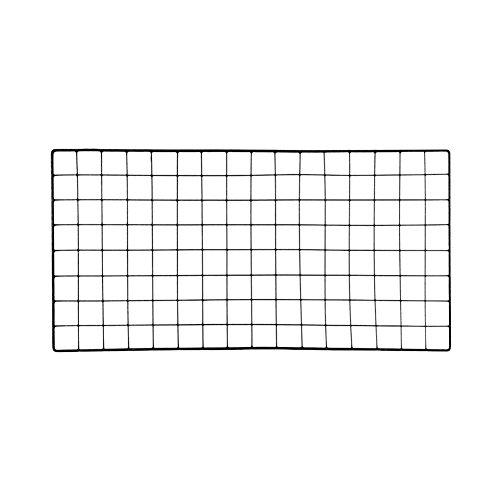 gaeruite Metall Eisen Wandregale Rack Dekoration Prop, DIY Grid Foto Wand Memo Board, ins Wandmontierte Mesh Display Panel Wand Kunst Display Organizer