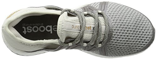 adidas Pureboost Xpose, Sneaker Donna Grigio (Grey One F17/grey Three F17/tactile Gold Met. F17)
