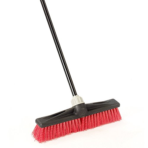 O-Cedar Professional 18 Rough-Surface Push Broom by O-Cedar - Push-broom