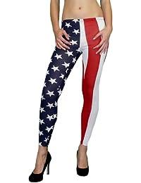 super angesagte USA - Flag - Leggings S&LU 34-38 (XS S M)