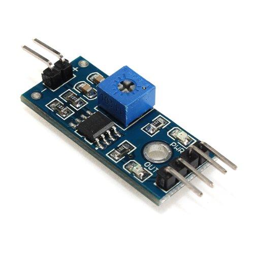 41hFaS tFzL - SODIAL(R) Suelo higrometro Deteccion de humedad Modulo Sensor de humedad Prueba de Arduino PI