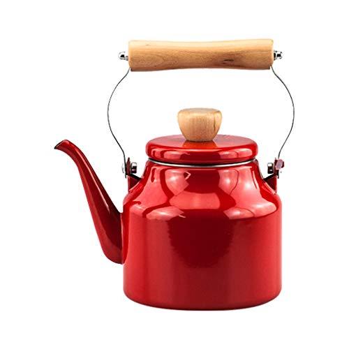 Crimson 1,2 L bouilloire émaillée bouilloire Kung Fu théière fleur théière cuisinière à induction universelle
