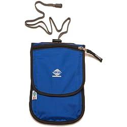 Aqua Quest CONTINENTAL Cartera de Viaje - Impermeable - Azul