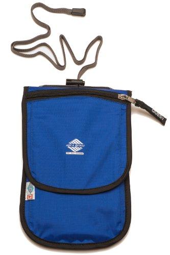 Aqua Quest CONTINENTAL blau Reisetasche Tasche wasserdicht Halter für wichtige Gegenstände, Zubehör, Dokumente - Continental Zip