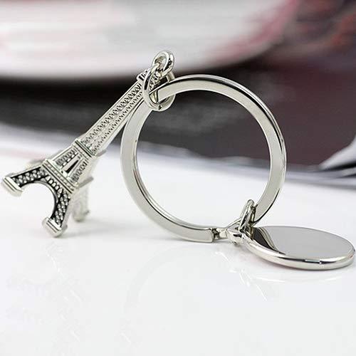 lüsselanhänger Mini Paris Eiffelturm Modell Anhänger Schlüsselbund Dekor Schlüsselring 1 ()