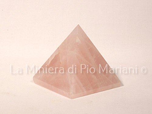 Piramide quarzo rosa