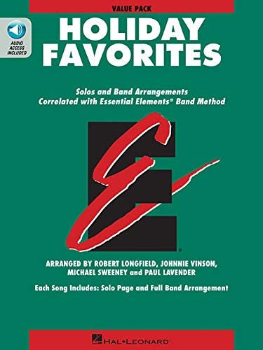 Essential Elements Holiday Favorites: Value Pak 37 Student Books + Conductor - Includes Downloadable Audio -