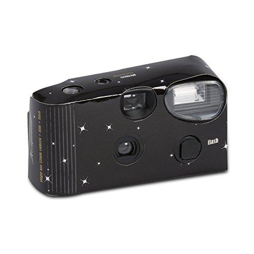 """Einwegkamera """"Hollywood Design"""" schwarz Hochzeit Einwegkameras Hochzeit Kameras"""