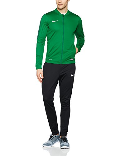 Nike Herren Academy 16 Knit Tracksuit Trainingsanzug,Grün (Pine Green/Black/Gorge Green/White),L