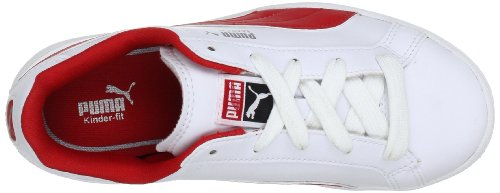 Puma Kinder Sneaker Match FS Weiß (white-high risk red 03)