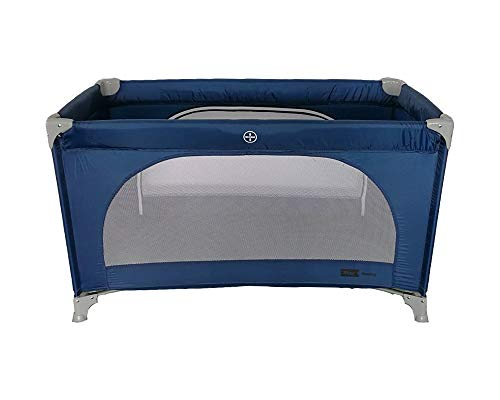 Star Ibaby Basic AC001 - Cuna de viaje plegable color Navy Blue