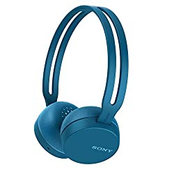 Sony SONY wireless headphone WH - CH400: Bluetooth compatible maximum 20 hours continuous playback with microphone 2018 model Blue WH - CH 400 L