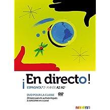 En directo 2e année - DVD classe by Claude Martin (2012-07-11)