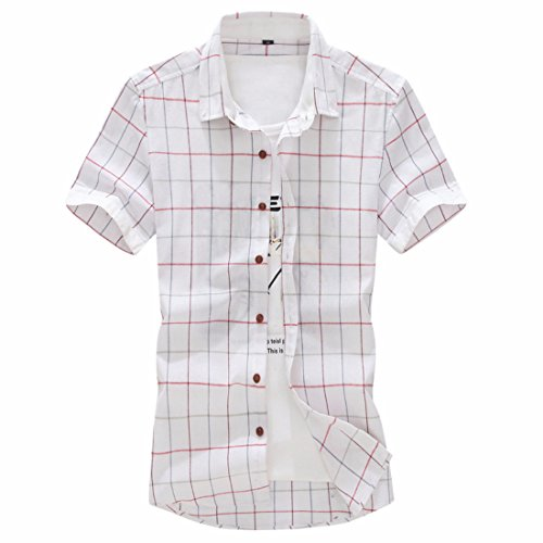 Men's Top Selling Short Sleeve Casual Shirts gray