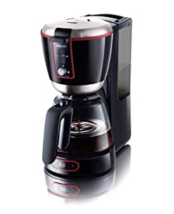 Philips HD 7686/90 Kaffeeautomat Essential schwarz mit Glaskanne