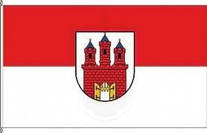 Königsbanner Autoflagge Gransee - 30 x 45cm - Flagge und Fahne