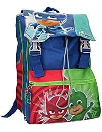 Mochila niño PJ MASKS bolsa de ocio escolar extensible azul VZ770 8aaf79616b6