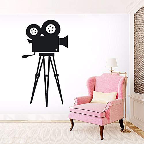woyaofal Film Kamera Wandtattoo Film Werkzeug Vinyl Wandaufkleber Kino Retro Wandkunst Removable...