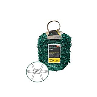 ArcelorMittal Dragon Barbed Wire Green Coated 25KG(200METRES)