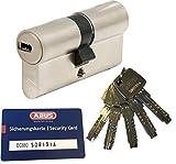 Abus ec660Profil Double cylindre Longueur (A/B) 40/45mm (C = 85mm) avec 5clés, avec carte de sécurité