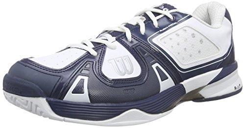 Wilson RUSH PRO SL AC Herren Tennisschuhe Mehrfarbig (Midnight Navy/White/White)