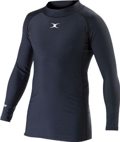 Gilbert Rugby Barbarian Herren Unterhemd schwarz schwarz XXS