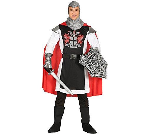 Ritter Kostüm für Herren König Herrenkostüm Karneval Fasching Märchen Gr. M-L, Größe:L