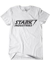 Iron Man T shirt The Avengers Assemble Stark Industries T-Shirt White