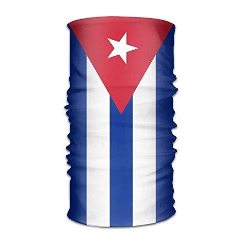 rnband Bandanas Flag of Cuba Outdoor Scarf Bandana ()