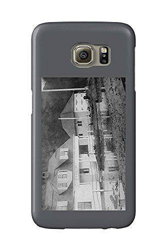 Tillamook Bay, Oregon - Tillamook Bay US Coast Guard Station (Galaxy S6 Cell Phone Case, Slim Barely There) Tillamook Bay